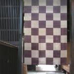 麻暖簾 和風インテリア