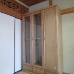 天然木セミオーダー本棚 ナラ無垢材