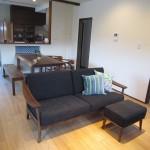 ウォールナット無垢の家具 インテリアコーディネート