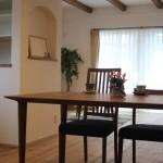インテリアコーディネート ウォールナット無垢の家具
