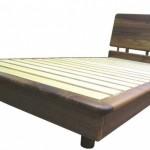 ウォールナット無垢ベッド