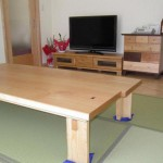 リビング 天然木家具