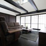 ウォールナット無垢の家具