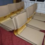 座椅子レザー生地の張替